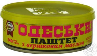 Паштет Онісс Одеський з вершковим маслом 240г