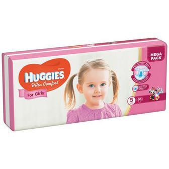 Підгузки Huggies Ultra Comfort для дівчаток 3,4,5 34/36/44шт