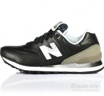 Кросівки New Balance 574 WL574RAA р.7.5 чорний