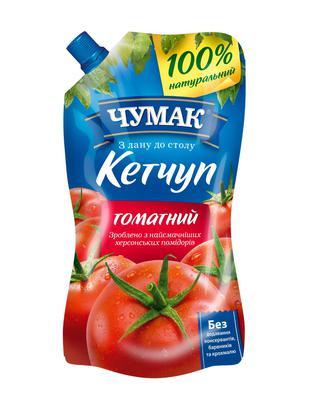 КЕТЧУП томатний, лагідний, 270 г ЧУМАК