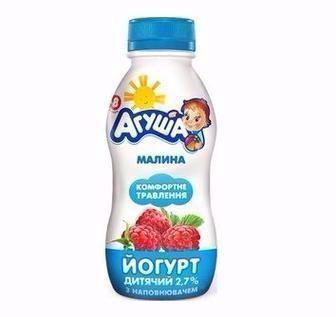 Йогурт дитячий 2,7% Агуша 200г