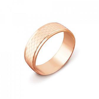 Обручальное кольцо с алмазной гранью Артикул 1070/1