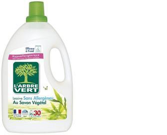 Засіб для прання L'Arbre Vert Рослинне мило, 2 л
