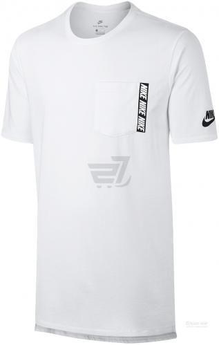 Футболка Nike NSW TEE DRPTL AV15 PRNT 856469-101 XL білий