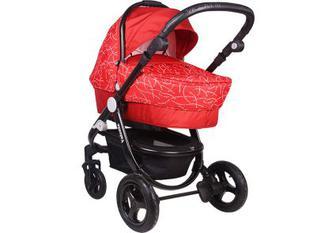 Дитяча коляска універсальна 2 в 1 Babyhit Valenta Terracotta