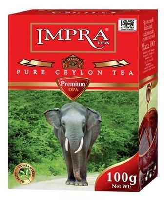 Чай Красная пачка, 100г, Impra