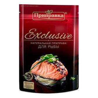 Приправа Приправка Exclusive до риби 50г