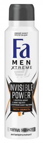 Дезодорант для чоловіків Fa Men Xtreme Xtreme Invisible Power спрей 150 мл