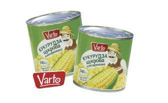 Кукурудза цукрова Варто 340 г