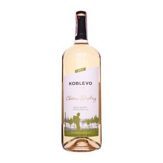 Вино напівсолодке червоне Chateau Laroche або біле Chateau D`Arcy Koblevo 1,5 л