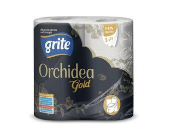 Папір туалетний Grite Orchidea Gold, 4 рулони/уп