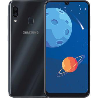 Смартфон SAMSUNG Galaxy A30 3/32Gb Duos Black