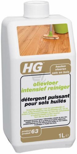 Засіб для очищення дерев'яних підлог із масляним покриттям HG інтенсивний 1 л