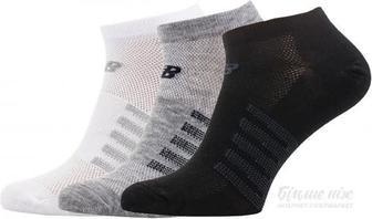 Шкарпетки New Balance чорно-сіро-білий