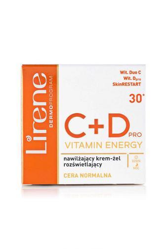 Крем-гель для лица Lirene С+D Осветляющий С+D, 50мл