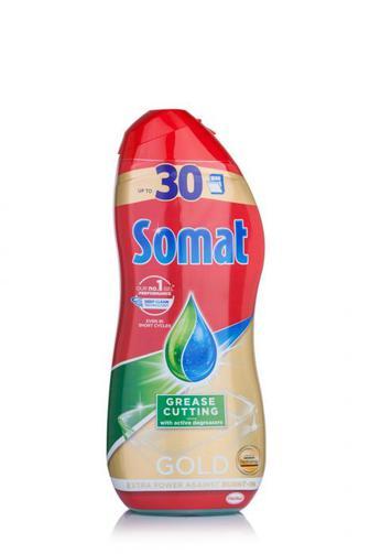Средство для мытья посуды гель Somat Gold в посудомоечной машине, 540мл