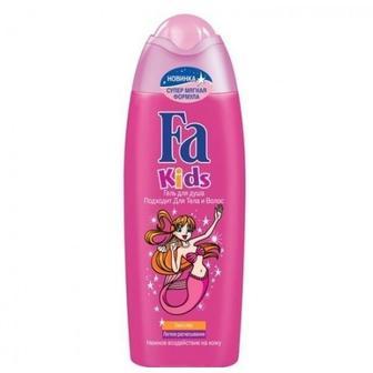 Детские шампуни и гели для душа Fa