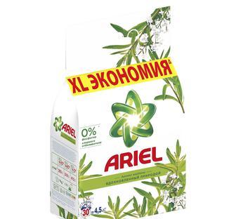 Стиральный порошок автомат ARIEL масла ши, 4,5кг