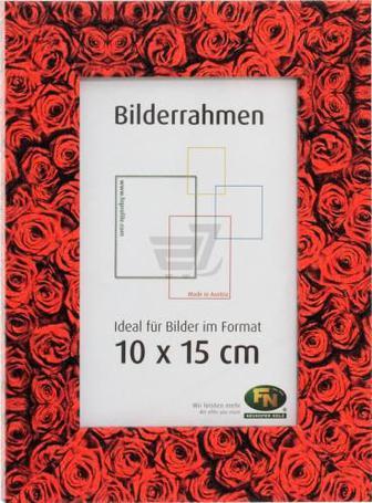 Рамка для фото Троянди червоні 712986 10x15 см