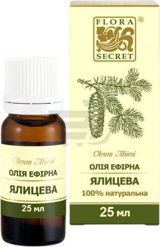 Ефірна олія Ялицева 25 мл Flora Secret