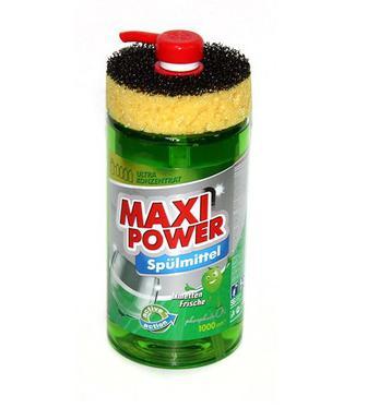 Средство для посуды лайм, лимон MAXIPower 1л
