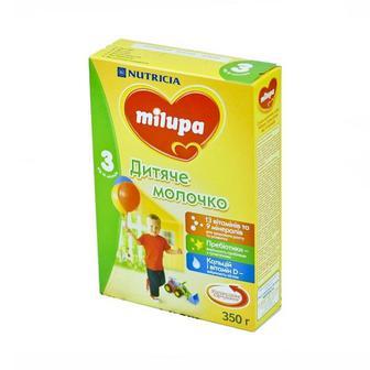Детское молочко Milupa 3 350/600г