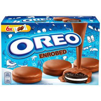 Печиво Oreo в шоколадній глазурі 246г