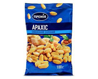 Арахіс «Премія»® солоний смажений, 100г